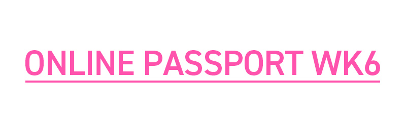ONLINE PASSPORT WK6