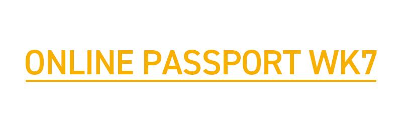 ONLINE PASSPORT WK7