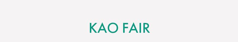 KAO FAIR